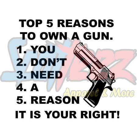 Guns Hoodie