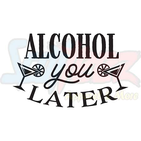 ALCOHOL Crewneck