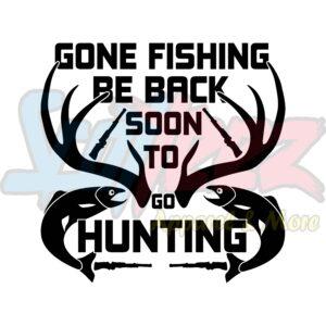 HUNTING/FISHING/CAMPING Crewneck